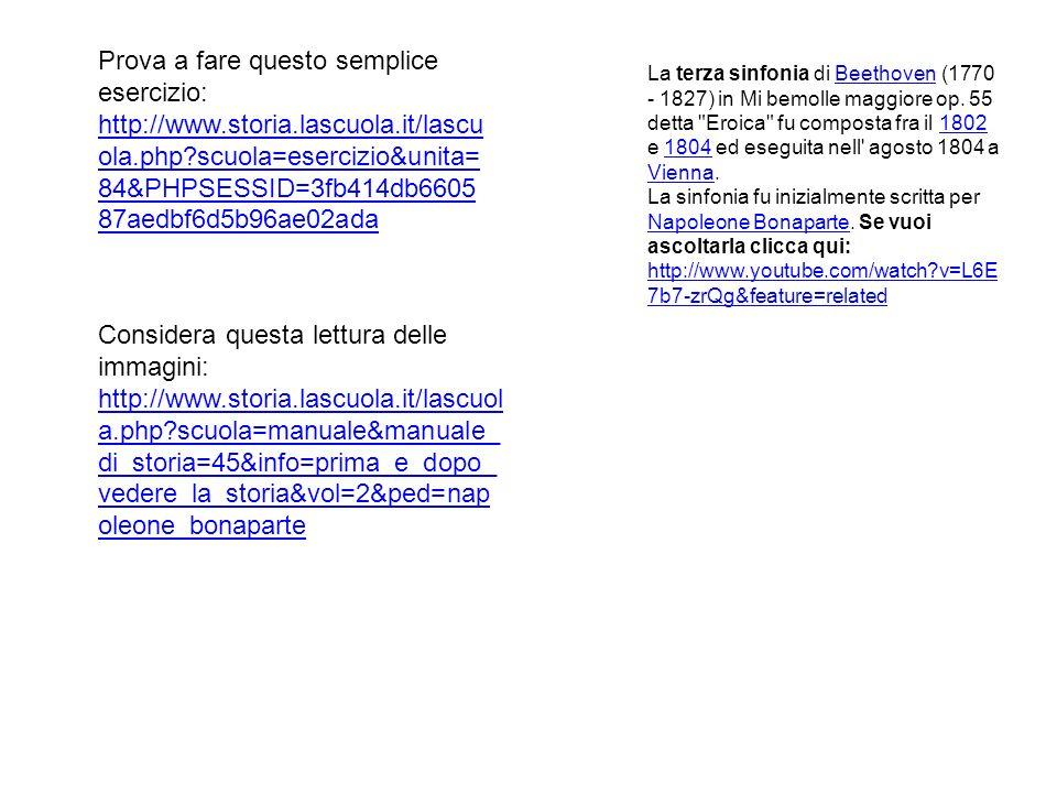 Prova a fare questo semplice esercizio: http://www. storia. lascuola