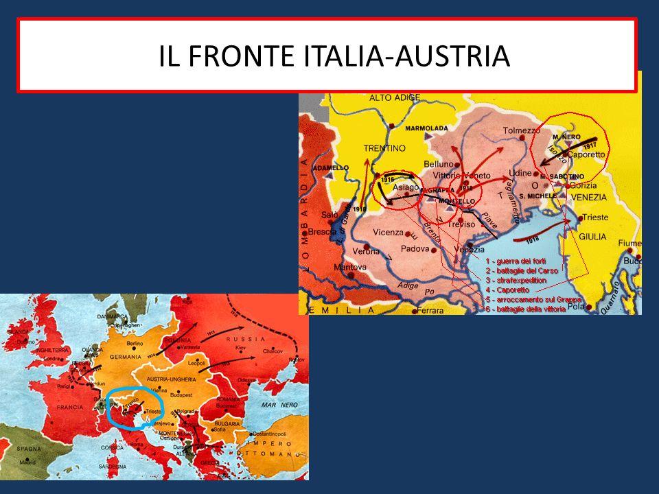 IiIL FRONTE ITALIA-AUSTRIA