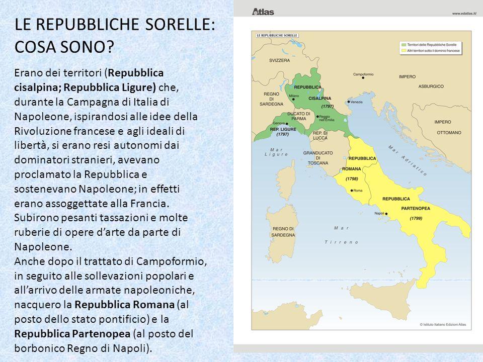 LE REPUBBLICHE SORELLE: COSA SONO