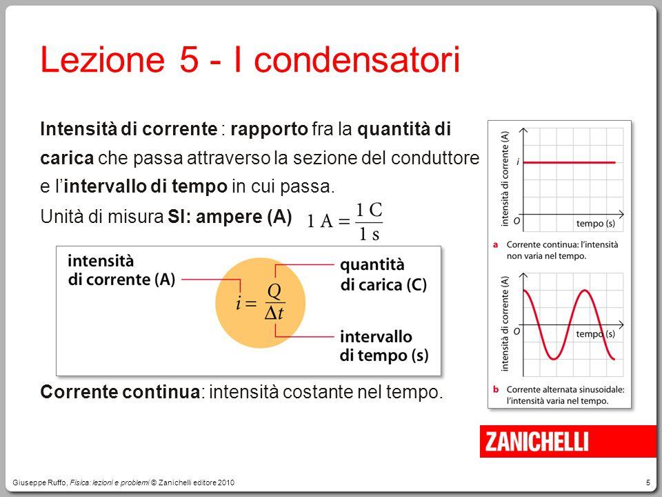 Lezione 5 - I condensatori