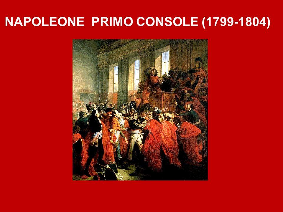 NAPOLEONE PRIMO CONSOLE (1799-1804)