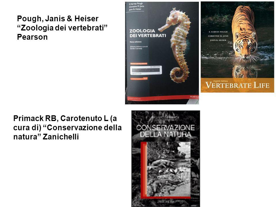 Pough, Janis & Heiser Zoologia dei vertebrati Pearson.