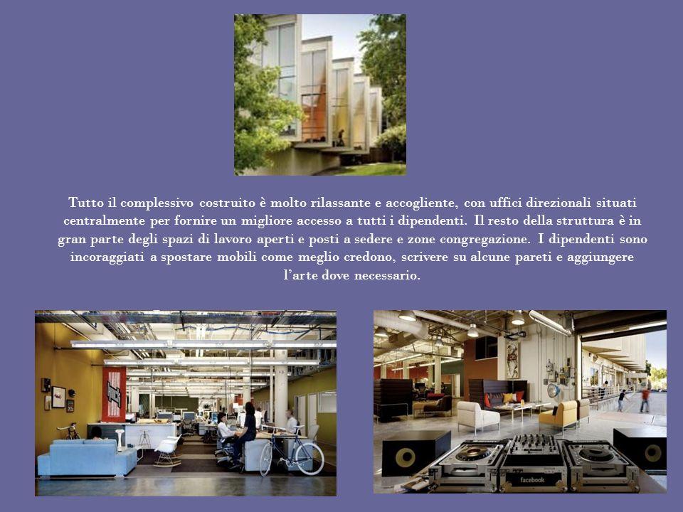Tutto il complessivo costruito è molto rilassante e accogliente, con uffici direzionali situati centralmente per fornire un migliore accesso a tutti i dipendenti.