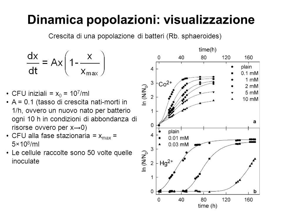 Dinamica popolazioni: visualizzazione