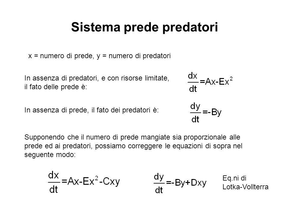 Sistema prede predatori