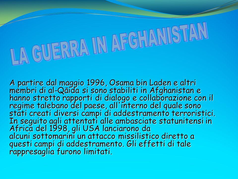 LA GUERRA IN AFGHANISTAN