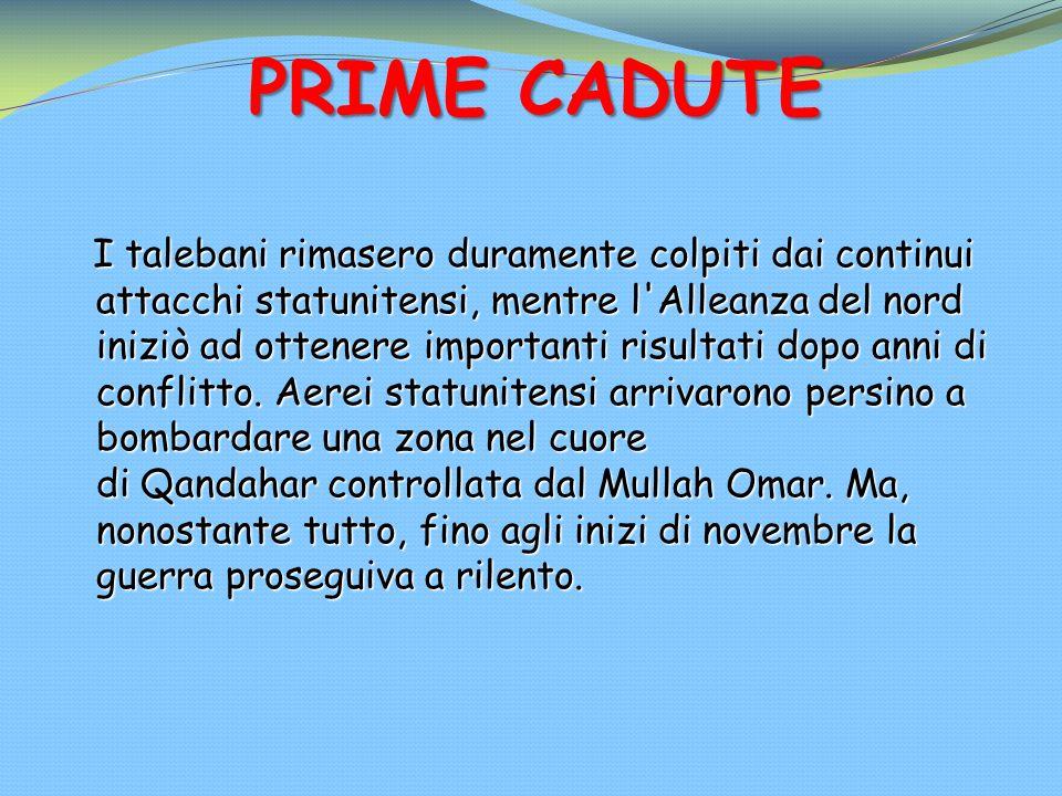 PRIME CADUTE