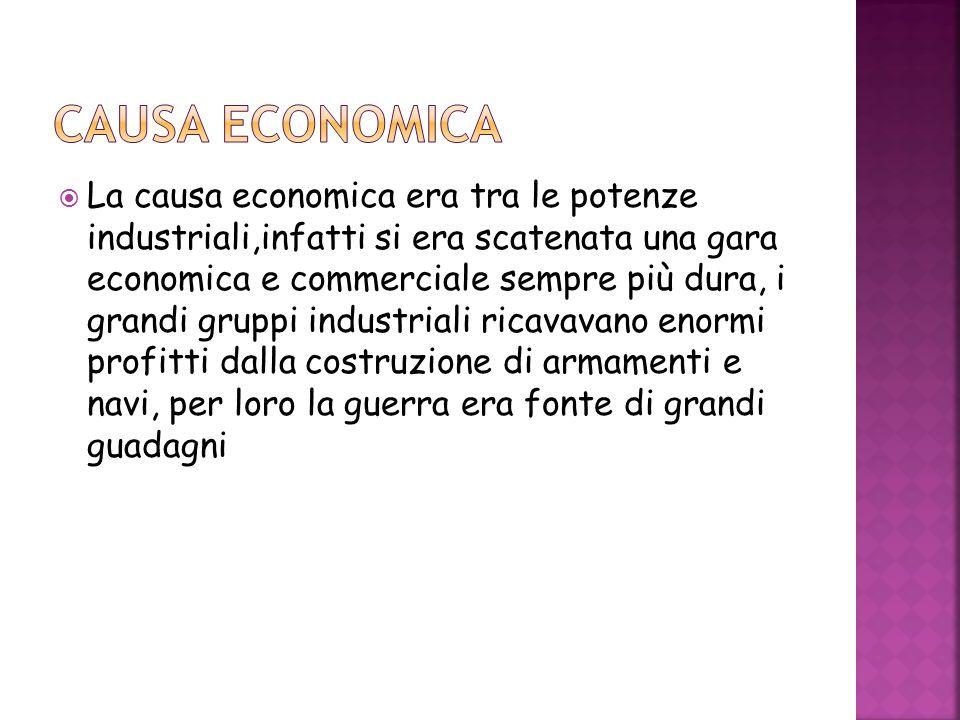 CAUSA ECONOMICA