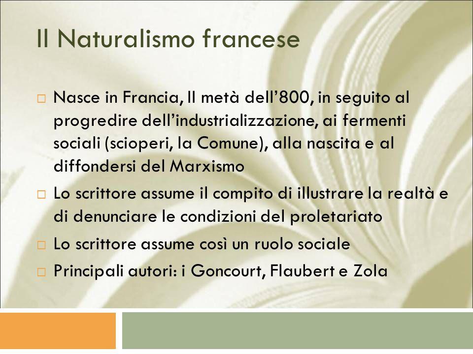 Il Naturalismo francese