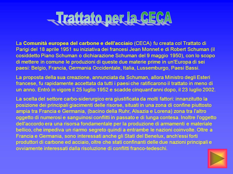 Trattato per la CECA