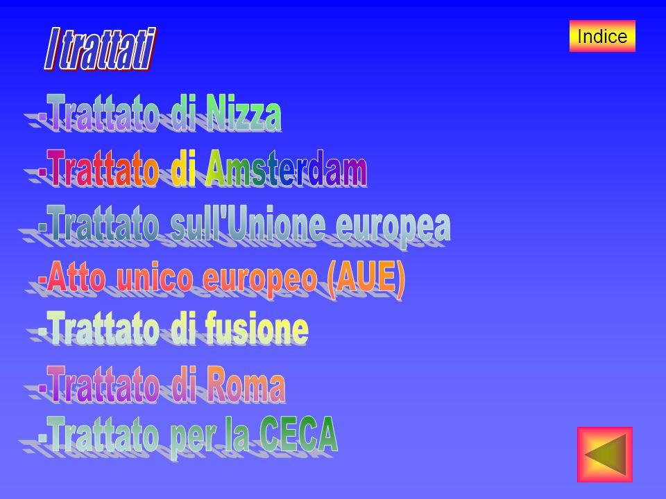 I trattati -Trattato di Nizza -Trattato di Amsterdam