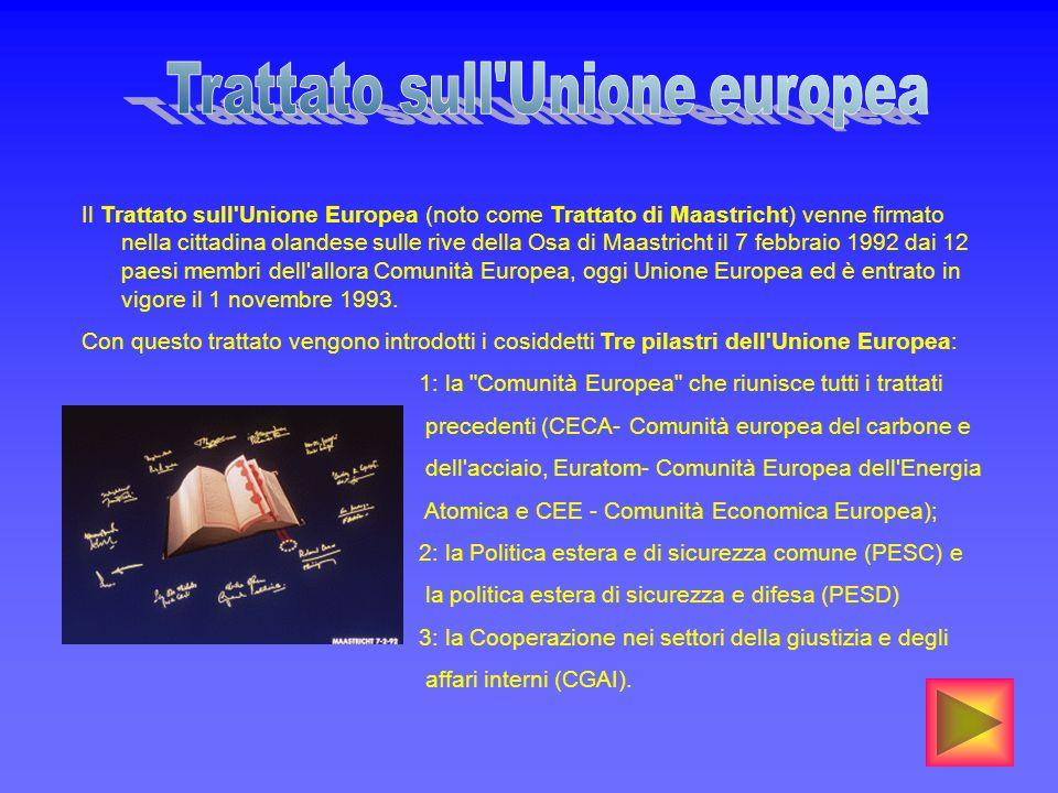 Trattato sull Unione europea