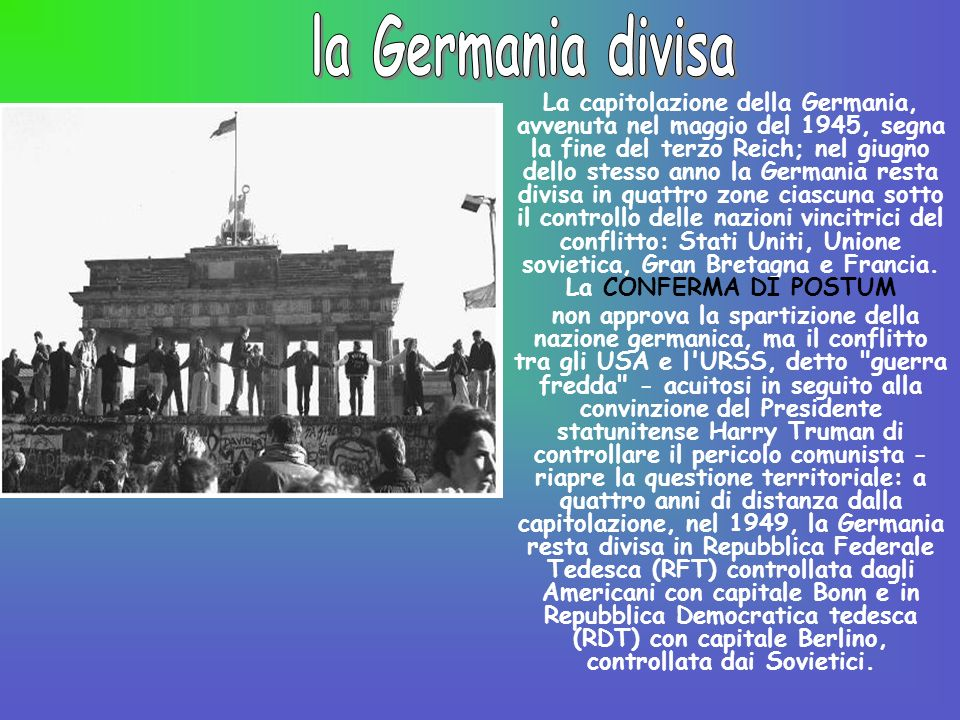 la Germania divisa