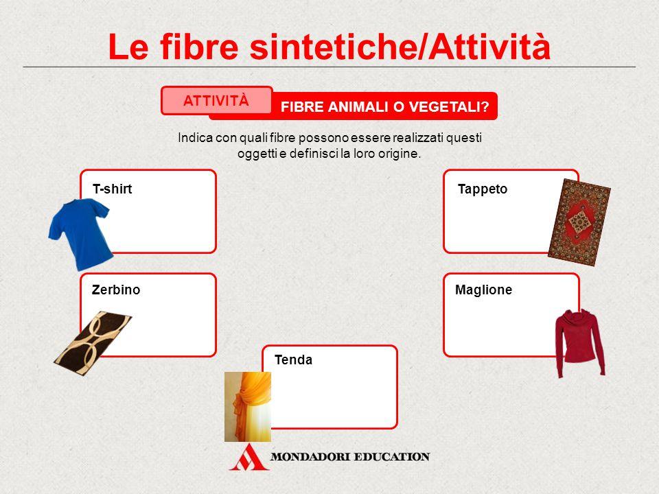 Le fibre sintetiche/Attività