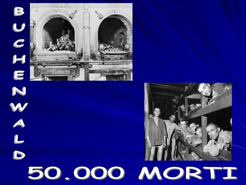 BUCHENWALD 50.000 MORTI