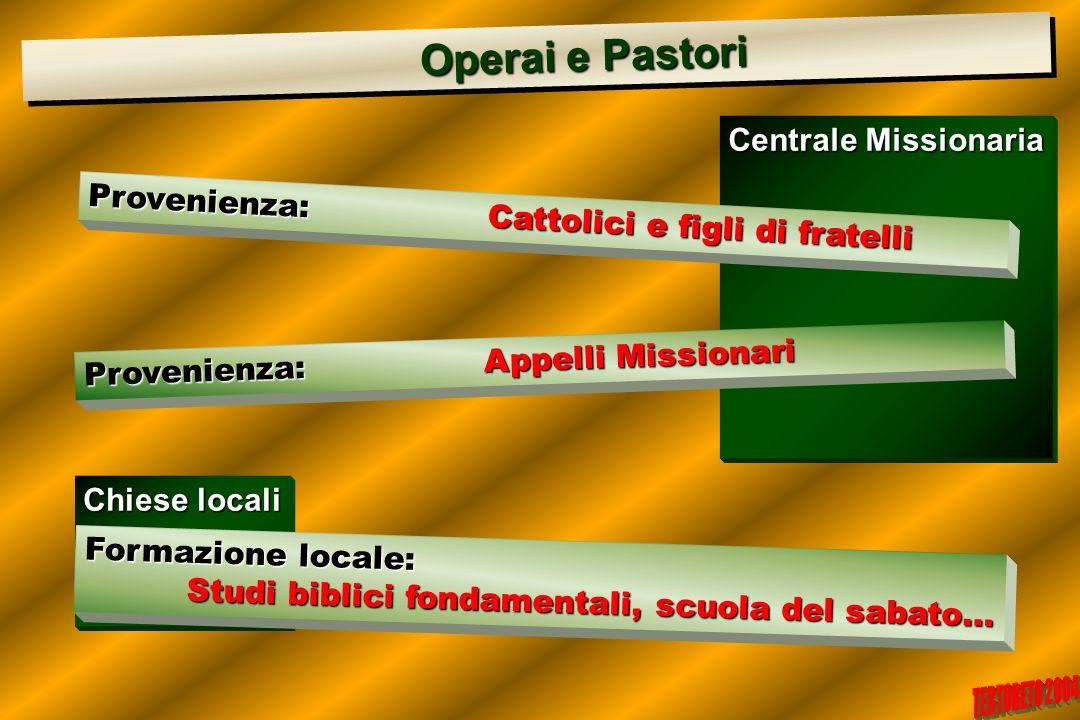 Operai e Pastori Centrale Missionaria