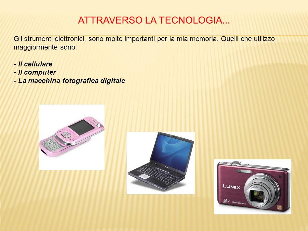 ATTRAVERSO LA TECNOLOGIA...