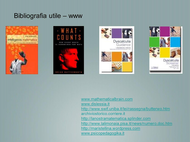 Bibliografia utile – www