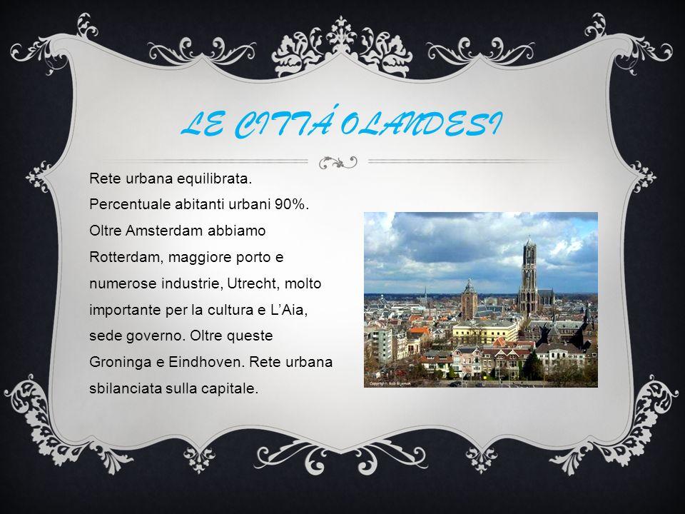 LE CITTÁ OLANDESI