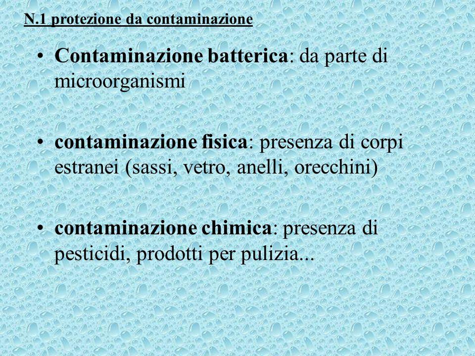 Contaminazione batterica: da parte di microorganismi