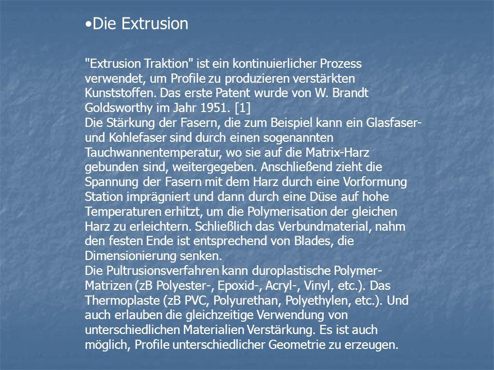 Die Extrusion