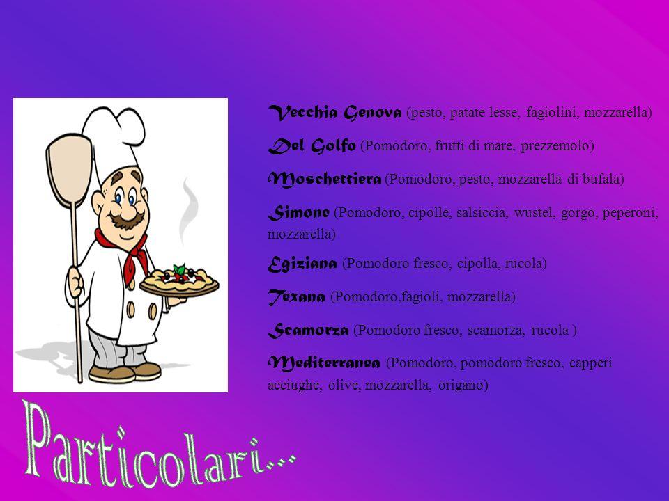 Vecchia Genova (pesto, patate lesse, fagiolini, mozzarella)