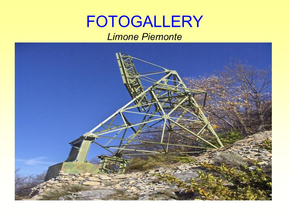 FOTOGALLERY Limone Piemonte