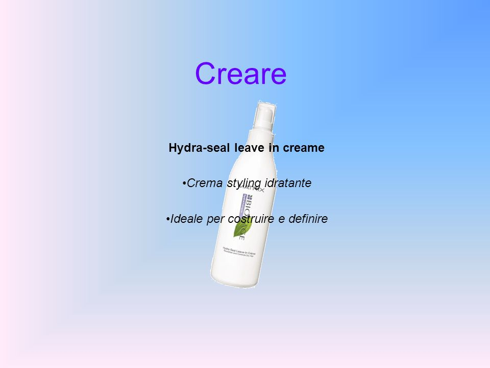 Hydra-seal leave in creame
