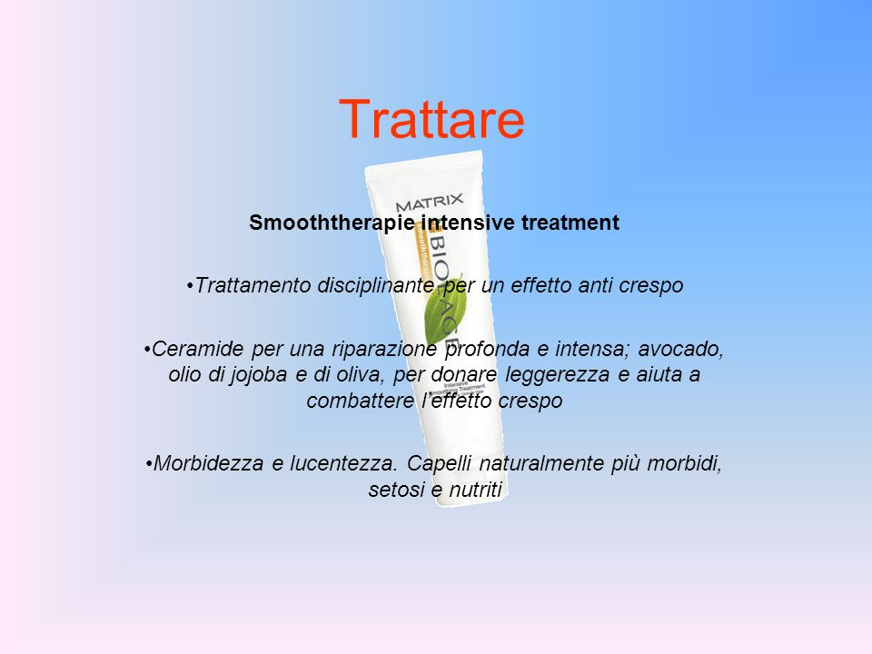 Smooththerapie intensive treatment