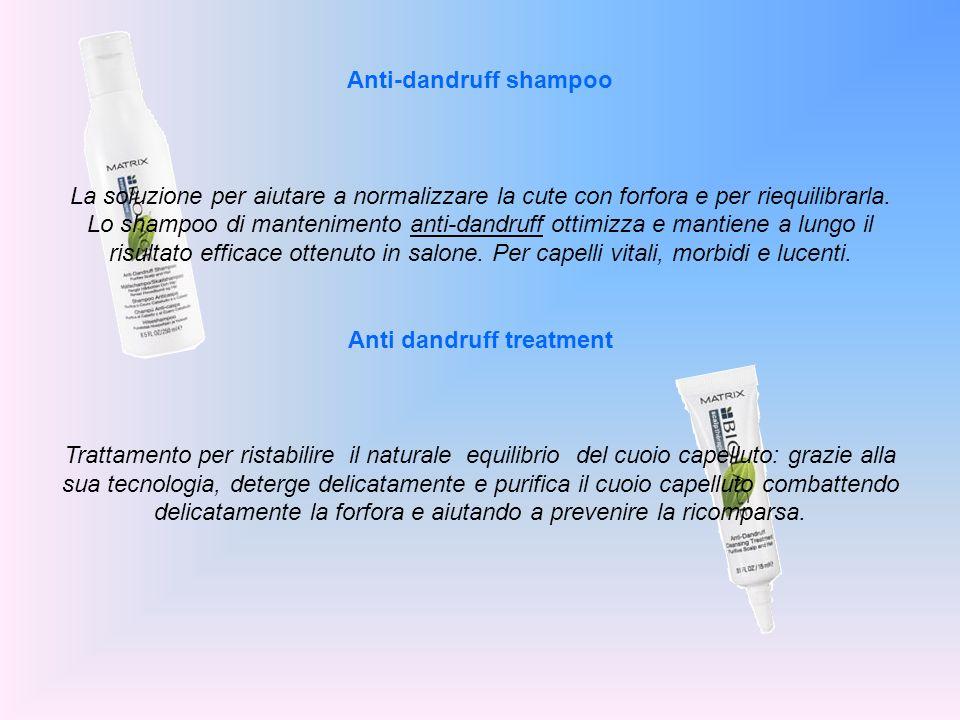 Anti-dandruff shampoo Anti dandruff treatment