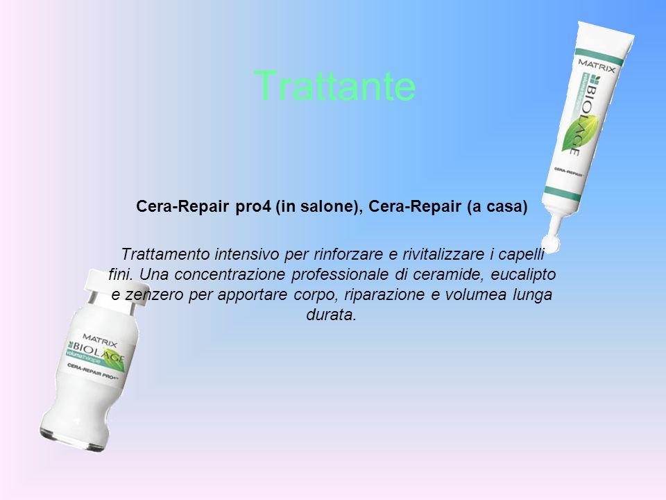 Cera-Repair pro4 (in salone), Cera-Repair (a casa)