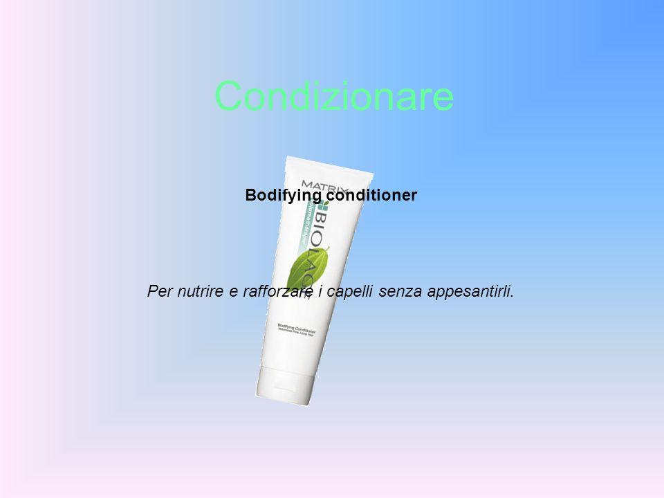 Bodifying conditioner