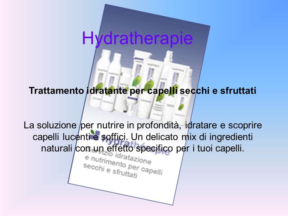 Trattamento idratante per capelli secchi e sfruttati