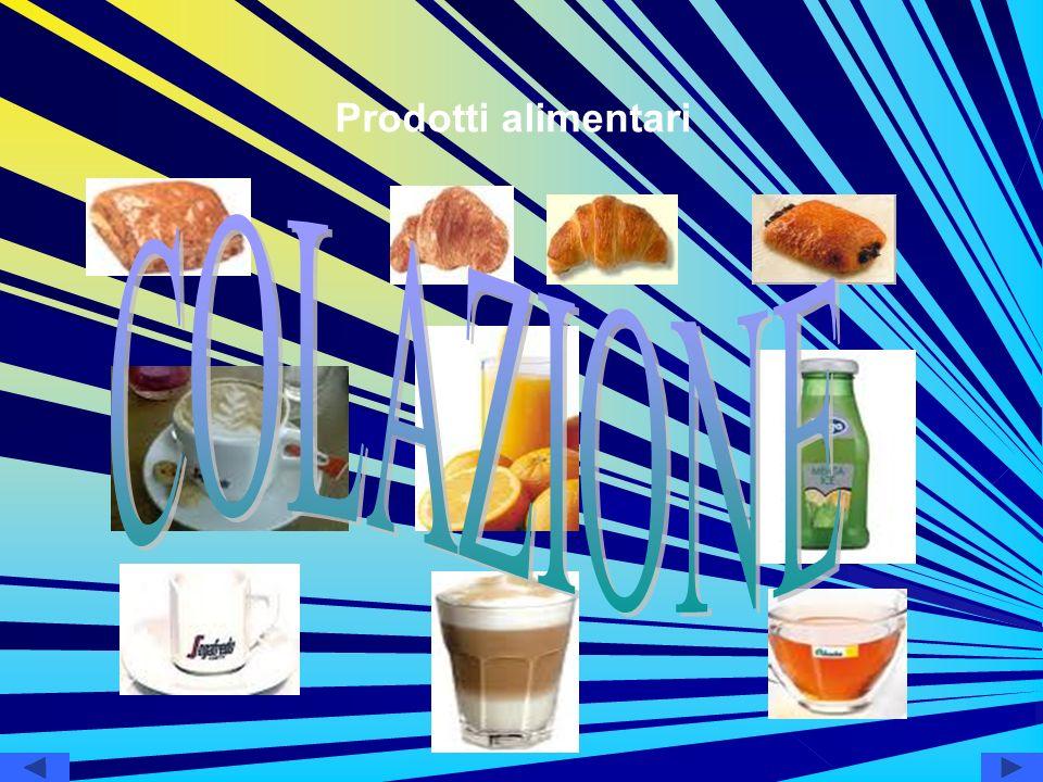 Prodotti alimentari COLAZIONE