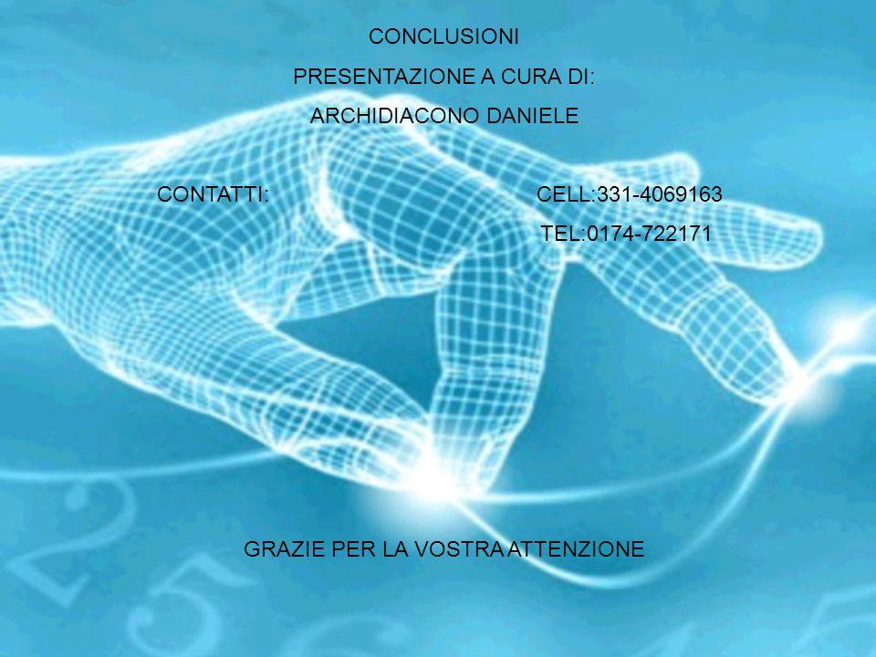 PRESENTAZIONE A CURA DI: ARCHIDIACONO DANIELE