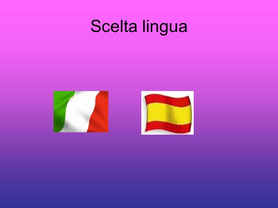 Scelta lingua