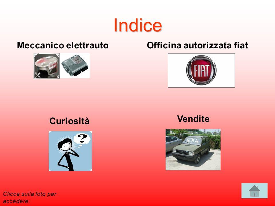 Indice Meccanico elettrauto Officina autorizzata fiat Vendite
