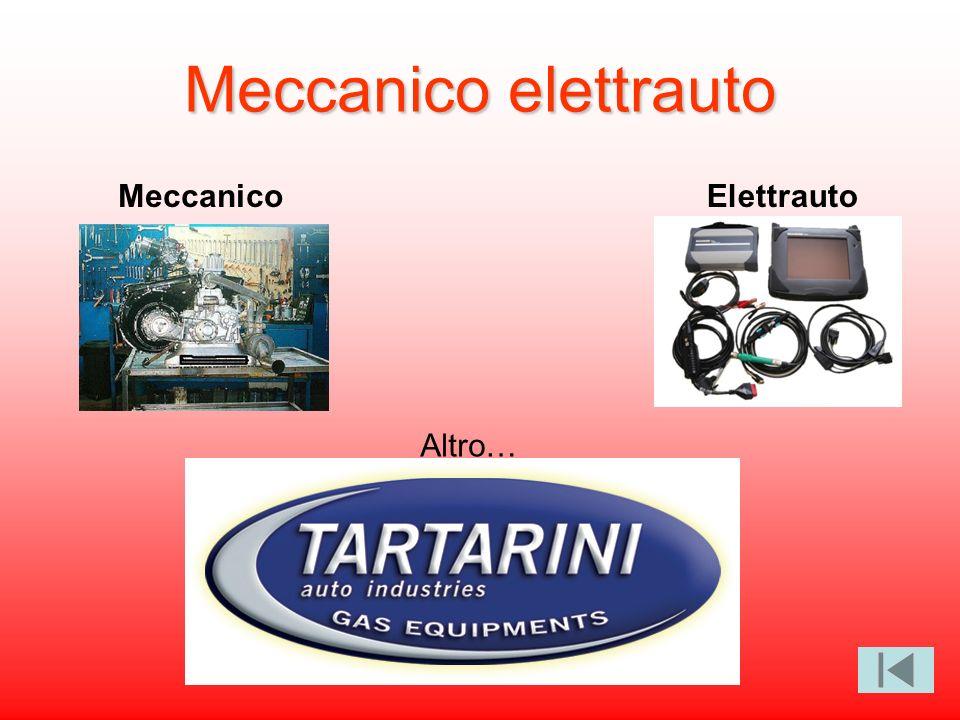 Meccanico elettrauto Meccanico Elettrauto Altro…