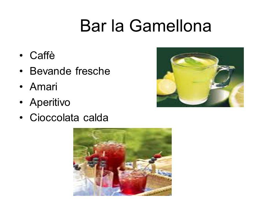 Bar la Gamellona Caffè Bevande fresche Amari Aperitivo