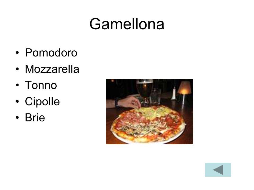 Gamellona Pomodoro Mozzarella Tonno Cipolle Brie