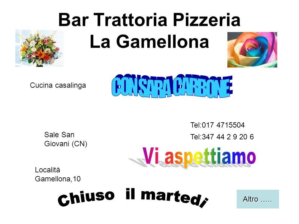 Bar Trattoria Pizzeria La Gamellona