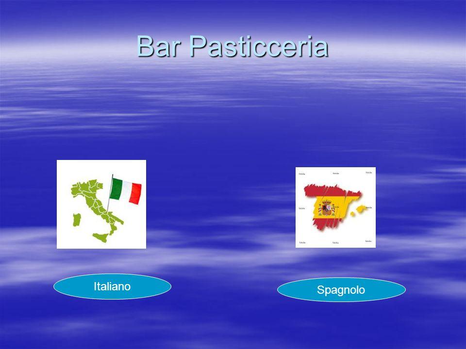 Bar Pasticceria Italiano Spagnolo