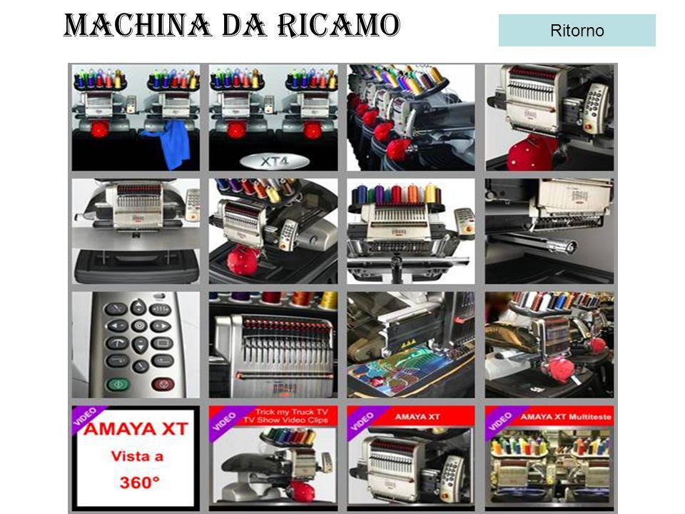 MACHINA DA RICAMO Ritorno