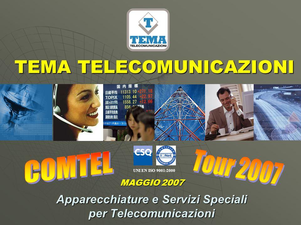 TEMA TELECOMUNICAZIONI