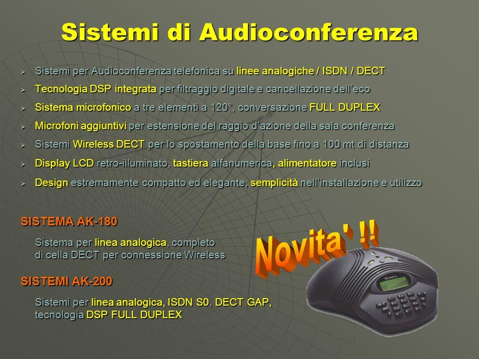 Sistemi di Audioconferenza