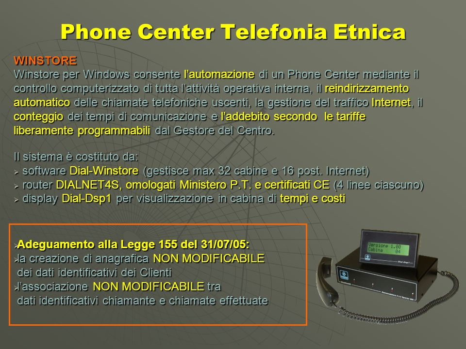 Phone Center Telefonia Etnica