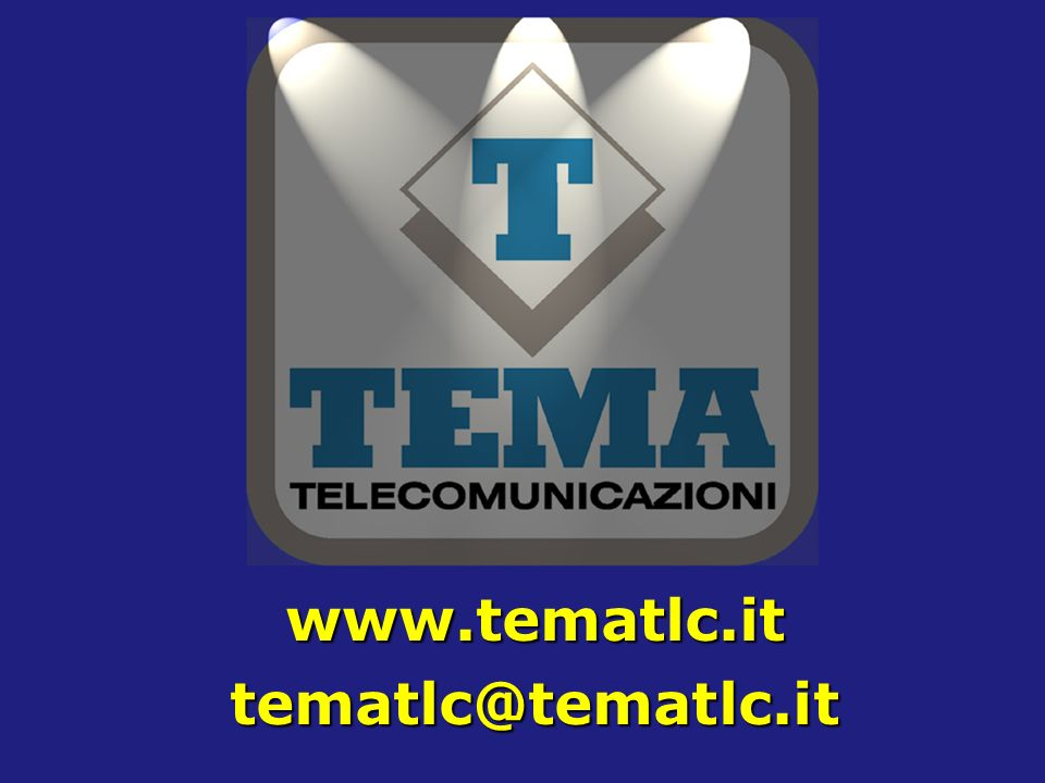 www.tematlc.it tematlc@tematlc.it