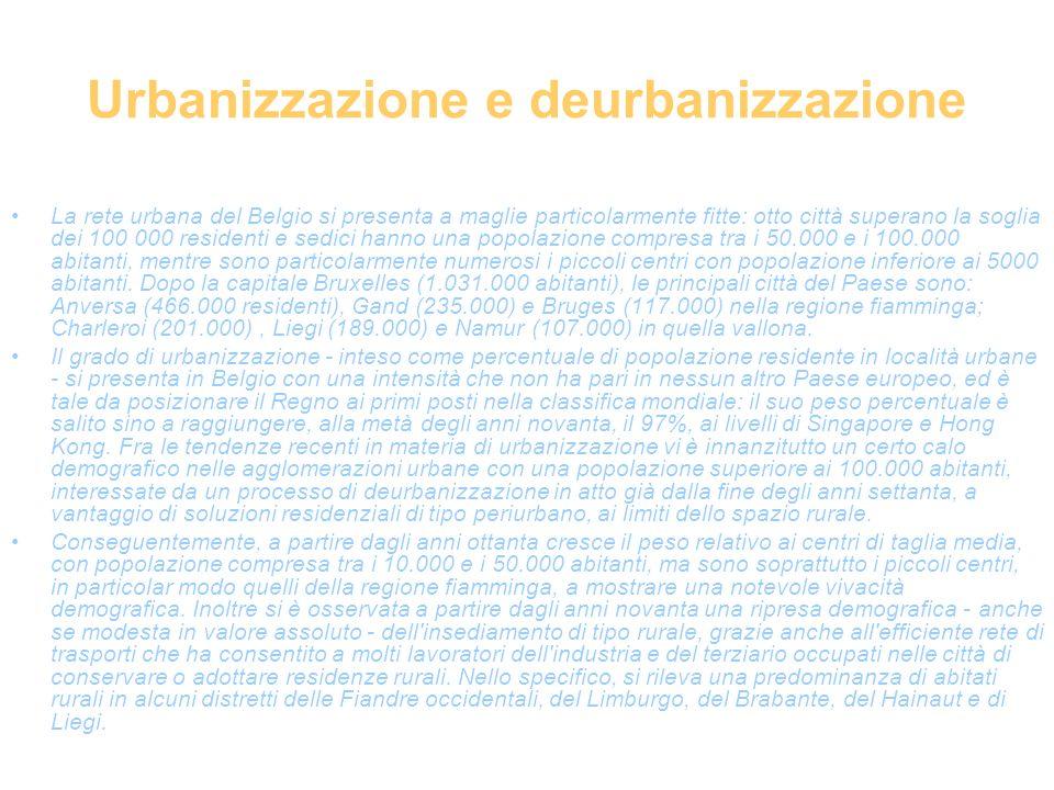 Urbanizzazione e deurbanizzazione
