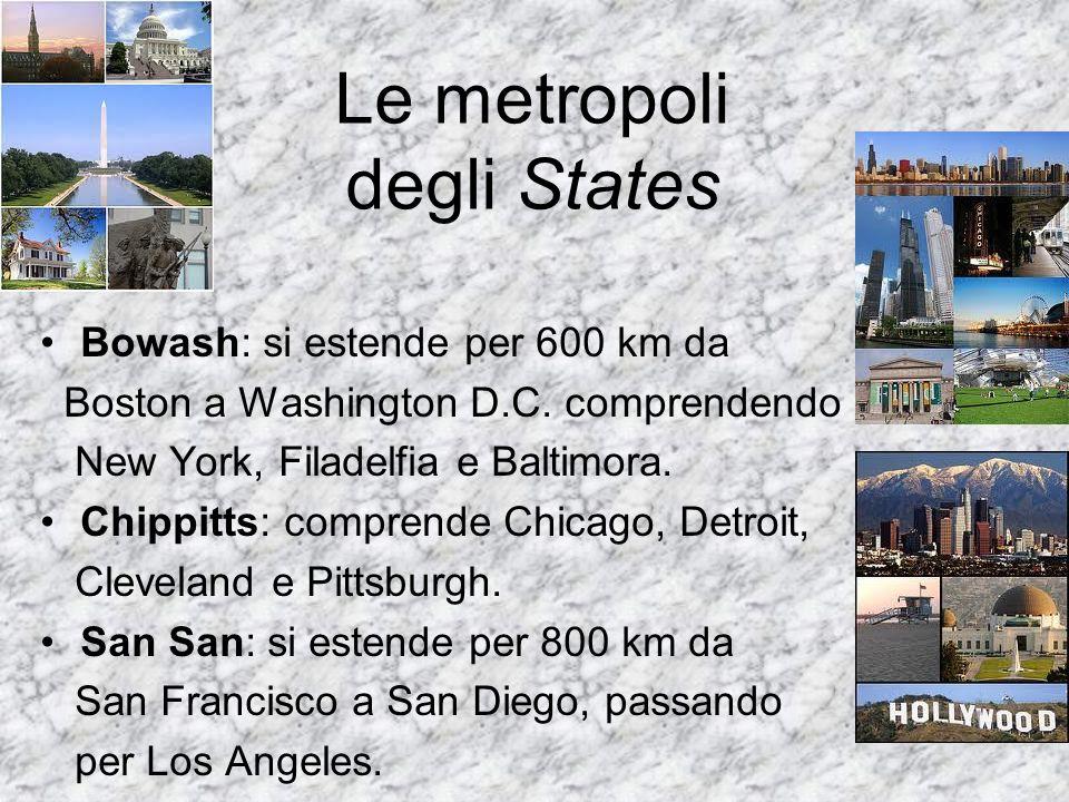 Le metropoli degli States