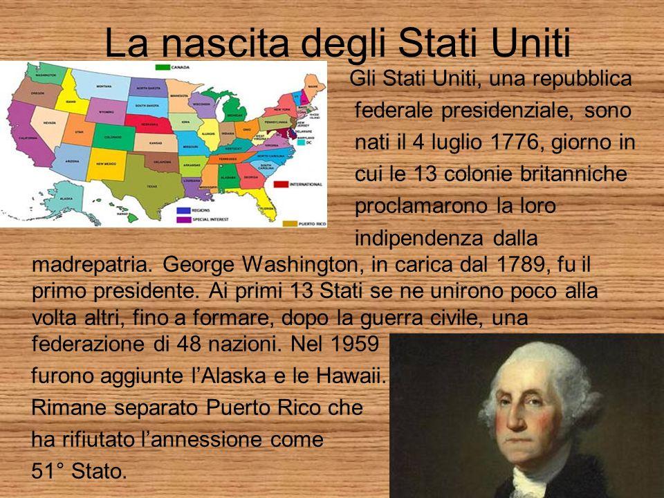 La nascita degli Stati Uniti